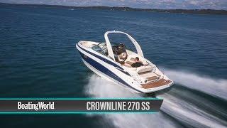 Crownline 270 SS – Boat Test