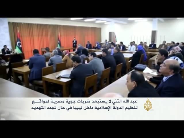 الثني لا يستبعد ضربات مصرية جديدة لمواقع تنظيم الدولة