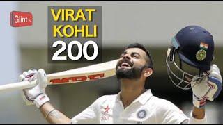 Virat Kohli Double Century   India vs West Indies 1st Test Highlights