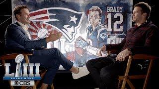 Tom Brady sits down with Tony Romo | Super Bowl LIII