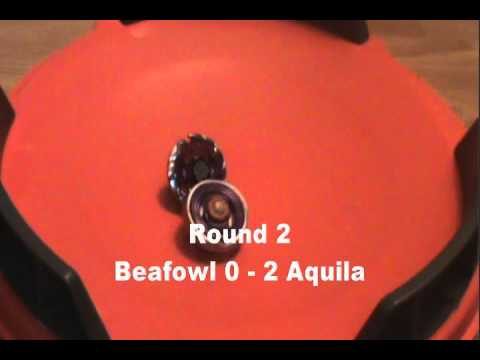 Beyblade AMV Battle - Fallout of the Birds - Earth Aquila 145WD vs Killer Beafow