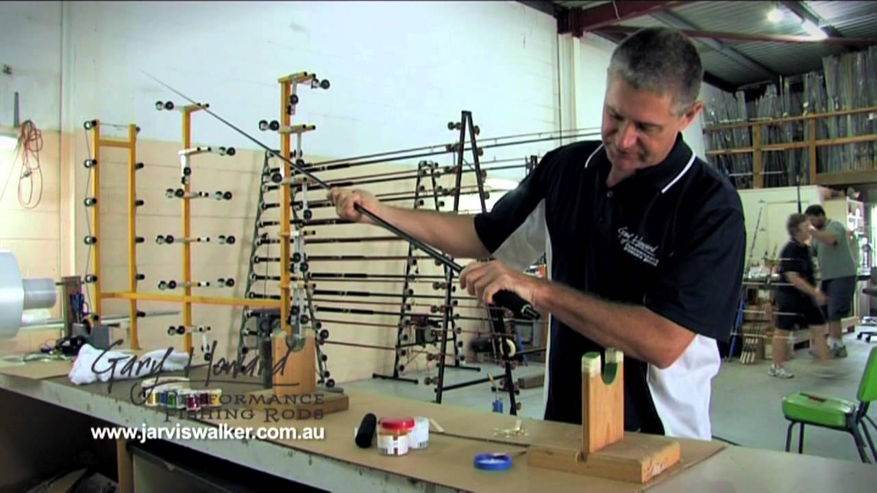 how to build a fishing rod part 1 youtube