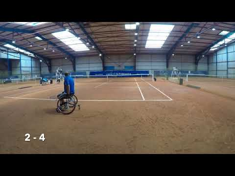 Wheelchair ITF Futures Toulouse 2017 Finals Second Set