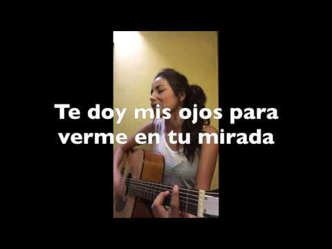 Por lo que reste de vida (cover)(con letras(lyrics)) - Daniela Calvario