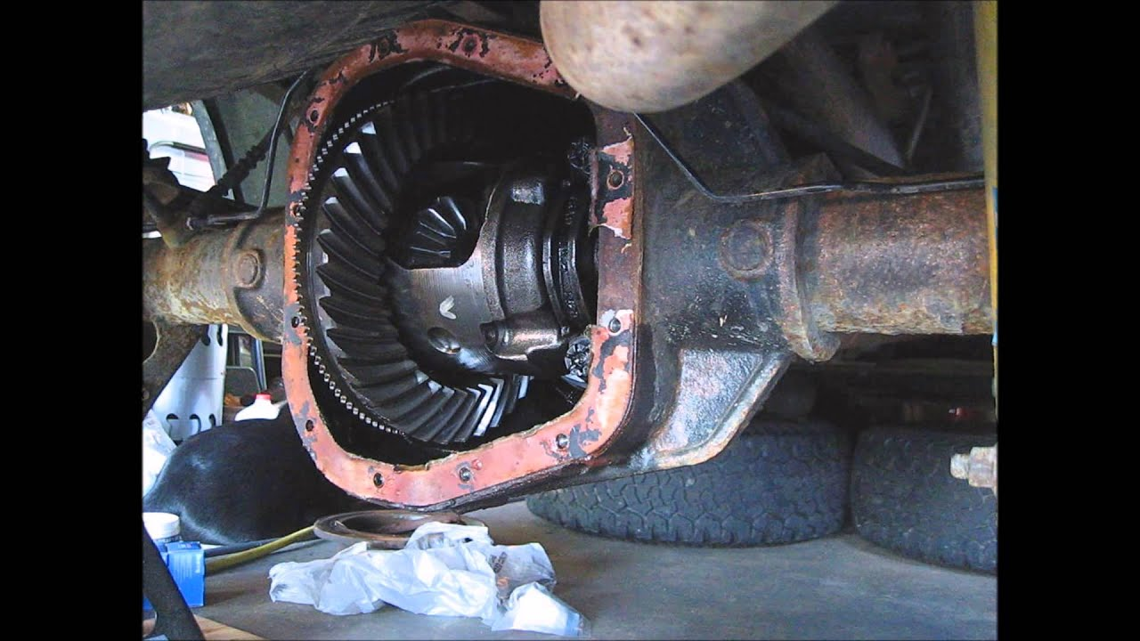 03 Ford F150 Rear Axle Seal Bearing Replacement Part 6
