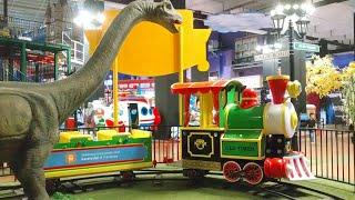 Horee! Naik Kereta Api Dinosaurus | Odong Odong Kereta Api | Dinosaur Train