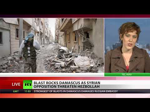 Deadly bomb blast damages Russian embassy in Damascus