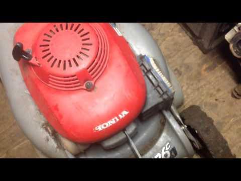Honda HRB 476c carb problem fix .final part. lawnmower.