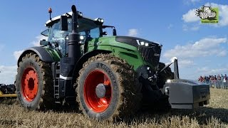 Fendt 1050 in action Wadenbrunn Fendt Feldtag 2014 Trekkerweb