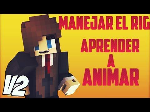 TUTORIAL - MANEJAR RIG DE MINECRAFT   APRENDER A ANIMAR CINEMA 4D   EL MEJOR RIG