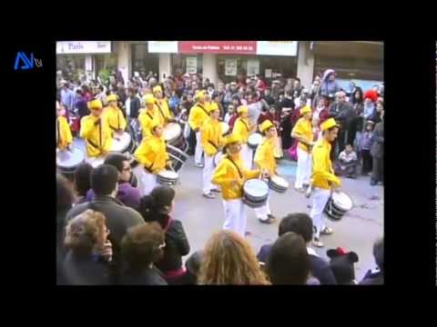 Carnaval de Alhos Vedros 2012 - 1�parte