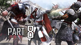 Assassin's Creed Brotherhood Walkthrough Part 8 - Lair of Romulus 2 (ACB Let's Play Commentary)