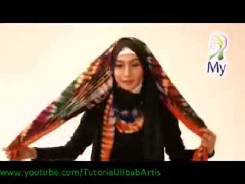 Tutorial Jilbab Modern MY02 Hijab Tutorial 10