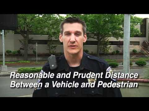 Beaverton Police Department Crosswalk Safety