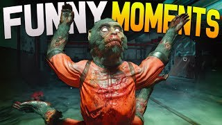 Black Ops 3 Zombies Funny Moments - Fidget Spinner, Moon, Monkey Attacks (BO3 Zombies Chronicles)