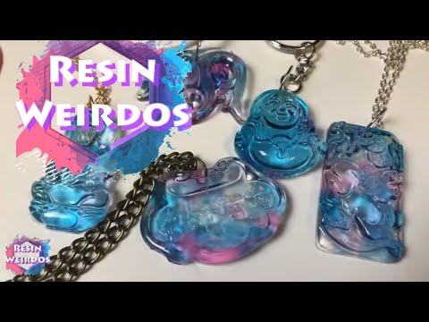5 Cheap and Easy DIY Jewelry Ideas - 5 Resin Accessories - Beautiful Pendants made out of Resin - YouTube