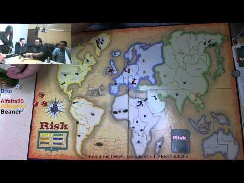 Risk de Mesa con Alfalta. Benaer. Kim. Delta y Orko