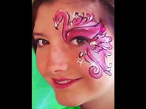 Dolphin Face Paint Easy