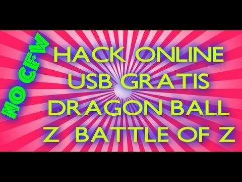 HACK USB Dragon ball Z battle of Z + LINK (OFW PS3)