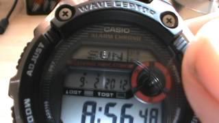 Casio WaveCeptor WV200A Atomic Radio Watch