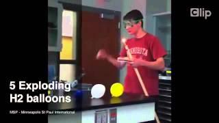 Top 10 thí nghiệm hóa học hay   Clip vn