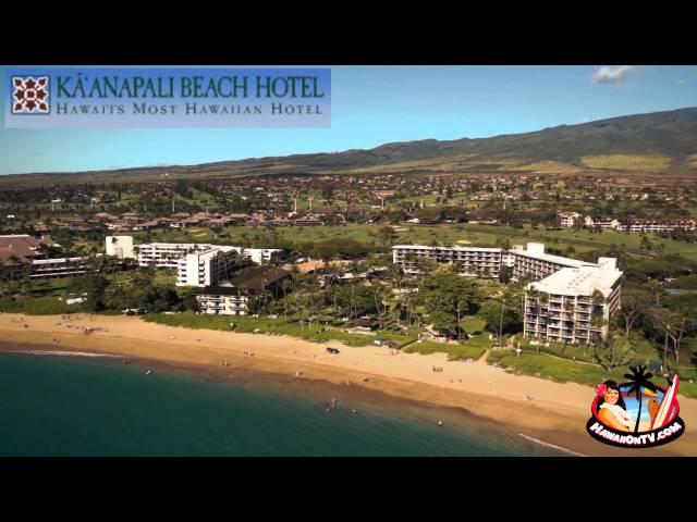 Ka'anapali Beach Hotel Helicopter Footage