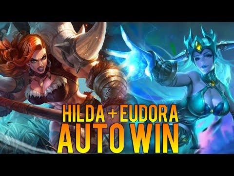 EUDORA + HILDA = AUTO WIN | Mobile Legends Indonesia