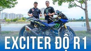 Exciter 150 độ phong cách R1 độc lạ tại Việt Nam