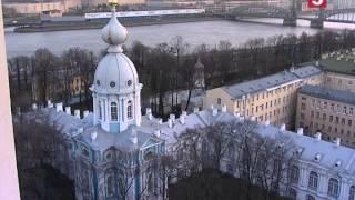 Смольный собор. Экскурсии по Петербургу. Утро на 5