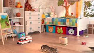 Fun Baby Pet Care   Kids Games Playful Colors    Fun Little Cat Animated Games for Children