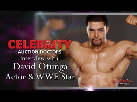 WWE Superstar David Otunga NXT on Celebrity Auction Doctors for After-School All-Stars CM Punk Nexus