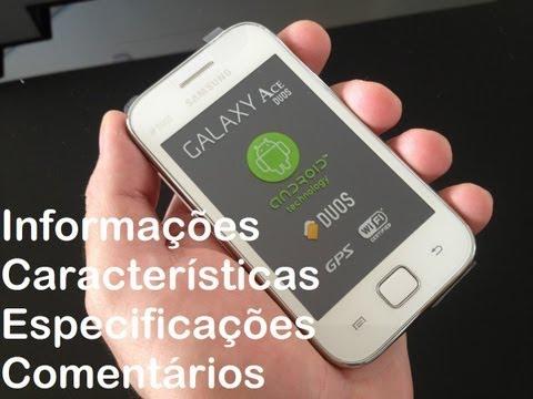 Samsung Galaxy Ace Duos S6802 - Review das Características