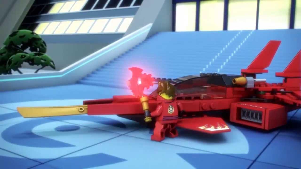 lego ninjago 70721 kai fighter lego 3d review youtube