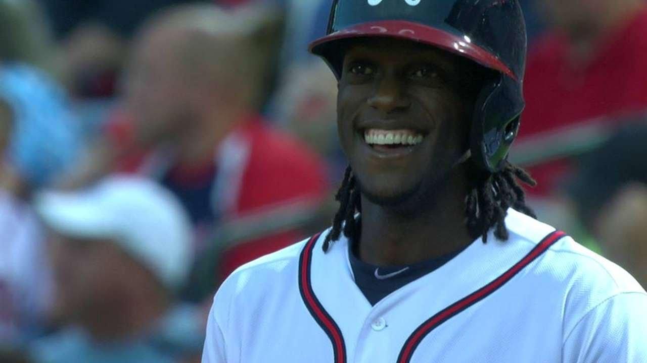 PHI@ATL: Maybin hits an RBI single to right field