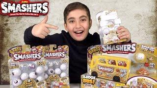 Zuru Smashers Series 2 Gross | Eyeballs, Sludge Bus Unboxing & Review!
