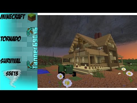 Minecraft Tornado Survival (Localized Weather Mod) S5E13