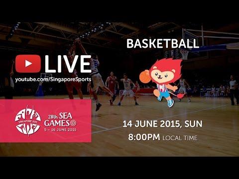 Basketball Men's Semi Finals 2 (Day 9) | 28th SEA Games Singapore 2015