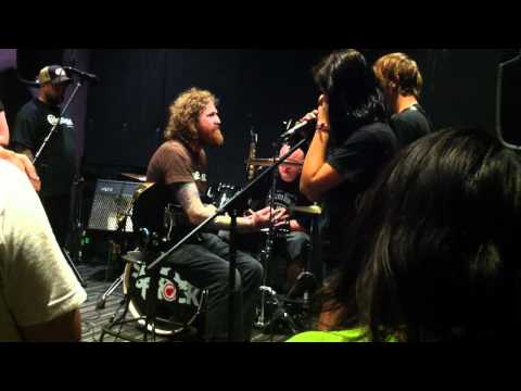 Brent Hinds of Mastodon working on Crack the Skye with School of Rock