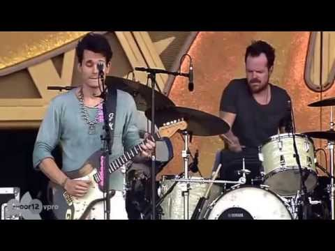 John Mayer Gravity  Pinkpop 2014 video