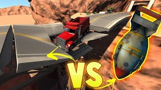 "BeamNG Drive - ""Nuclear Bomb"" VS The Bridge - The BEST Mods! - BeamNG Drive Gameplay Highlights"
