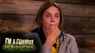 Caitlyn Has Doubts During Her First Night in Camp | I'm a Celebrity... Get Me Out of Here!
