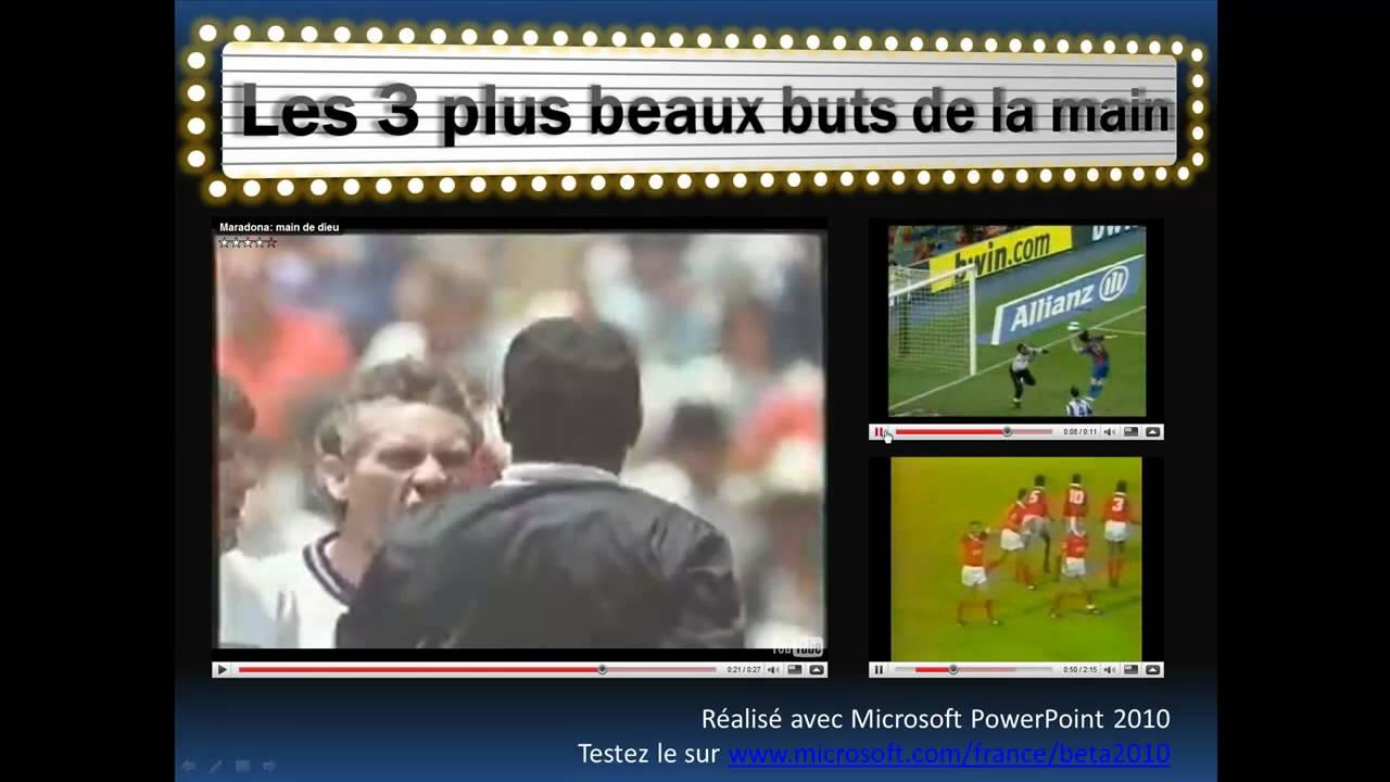 Foot les plus beaux buts de la main maradona messi vata youtube - Les plus beaux boutis ...
