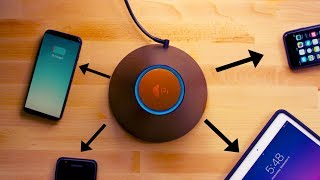The World's First True Wireless charging Device