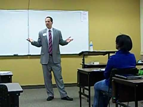 Toastmaster for Lansdale School of Business mtg