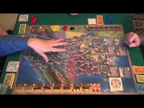 Энергосеть - играем в настольную игру, board game Power Grid