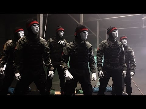 Jabbawockeez- Regenerate [behind The Mask] Pt. 1 video