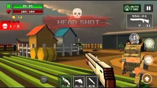Pixel Z Gunner - Mobile Fps game