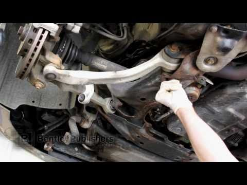 Audi A6 (C5) 1998-2004 - Front lower control arm replacement. how to