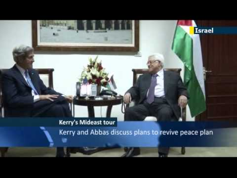 John Kerry meets Abbas in regional tour
