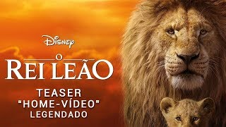 O Rei Leão • Teaser Home-Vídeo Legendado